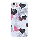 Heart Pattern Hard Case for iPhone 5/5S