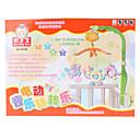 Multicolore bella Crab Baby Cross mobile Set giocattolo con musica Culla (2xAA)
