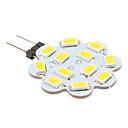 G4 3W 12 SMD 5630 270 LM Warm White LED Bi-pin Lights DC 12 V