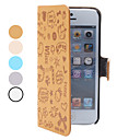 Little Girl Pattern PU Leather Case for iPhone 5/5S (Assorted Colors)