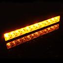 6W LED giallo luce flash per freni auto / retromarcia / Turning lampada segnale (12V)