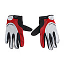 k2-redblackgray-nylon-comfortablebreathable-full-finger-gloves-for-cyclingmountain-climbing