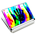 """Colorful Handprint"" Pattern Laptop Notebook cubrir etiqueta protectora de la piel para el 10 ""/ 15"" Laptop 18392"