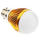 B22 2W 12x5050SMD 160-180LM 3000-3500K Bianco caldo della luce dorata di Shell LED Lampadina della sfera (85-265V)