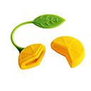Limone design tisana filtro infusore Strainer Bustina di tè (colore casuale)