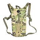 2,5 l Capacità durevole sopravvivenza acqua borsa zaino con tubo di acqua - camouflage