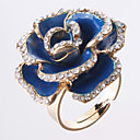 Rose Golden-Framed Opening Ring