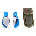 Outdoor Portable Multifunctional Tableware(Assorted Colors)