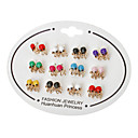 Octopus Stud Earrings(Random Color)