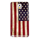 Retro Us Flag Pattern Hard Case for Samsung Galaxy Note 3 N9000
