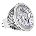 MR16 4W 3000K Warm White Light LED Spot Bulb (12V)
