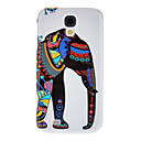 Elephant Pattern Protective Hard Back Cover Case for Samsung Galaxy S4 I9500
