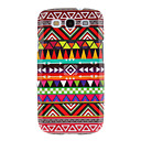 Gorgeous Weaving Cotton Cloth Pattern Protective Hard Back Cover Case for Samsung Galaxy S3 I9300