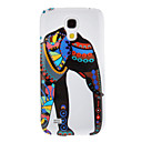 Elephant Pattern Protective Hard Back Cover Case for Samsung Galaxy S4 Mini I9190
