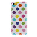 Simple Designed Colorful Round Dots Pattern Hard Case for iPhone 5C