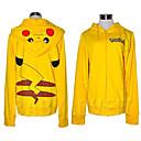 Pocket Monster Pikachu Adult Kigurumi Hoodie Coat