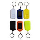 Rechargeable Solar ABS 3-LED Keychains(Random Color)
