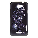 Flowers Pattern Plastic Material Hard Case for HTC ONE X