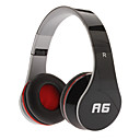 A6 Dynamic Stereo Music Comfortable Headphone Black