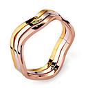 Fahion Womens Multicolor Alloy Band Ring(Multicolor)(1 Pc)
