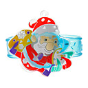 Kids Santa Claus Style Blue Bands Toy with LED (Random Color)