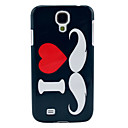 Love Moustache Designs Hard Cover for Samsung Galaxy S4 I9500