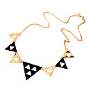 Triangle Punk Style Statement Necklace