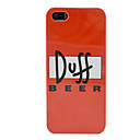 New Duff Beer Plastic Case for iPhone 5/5S