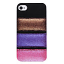 Joyland Colors Eye Shadow Case Pattern ABS Back Case for iPhone 4/4S