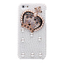 Pearl Crown Pattern Metal Jewelry Back Case for iPhone 5/5S
