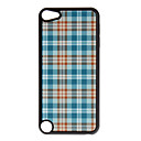 Shimmering Blue Grid Pattern Hard Case for iPod touch 5