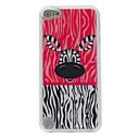Lovely Big Eyes Zebra Pattern Epoxy Hard Case for iPod Touch 5