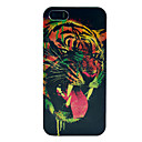 Terror Tiger Pattern Plastic Back Cover for iPhone 5/5S