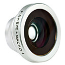 2-in-1 Macro Lens and 180 Degree Fish Eye Lens for iPhone 4/4S, iPad and Other Cellphone
