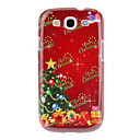 Colorful Christmas Tree Merry Christmas Pattern Protective Hard Back Case Cover for Samsung Galaxy S3 I9300
