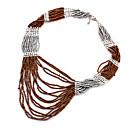 Europe Style Acrylic Strands Necklace