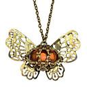 (1 Pc)Vintage Bronze  Pendant Necklace