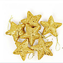 3.5Golden Star Christmas Decoration Ornament