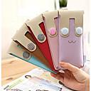 Flannelet Material Rabbit Smiley Button Rabbit Pencil Case