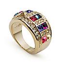 Vintage Donna Multicolor anelli di cristallo (Multicolor) (1 Pc)