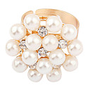 Sweet Style Pearl Flower Ring