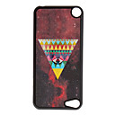 Shimmering Colorful Triangle and Eye Pattern Hard Case for iPod touch 5