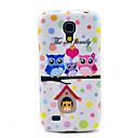Owls Family Soft TPU case for Samsung Galaxy S4 mini I9190 I9195