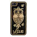 Vintage Metal Owl Ornament Back Case for iPhone 5/5S