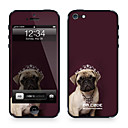 Da Code ™ Skin for iPhone 5/5S: Princess Pug (Animals Series)