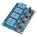 4 Channel 12V Low Level Trigger Relay Module for (For Arduino) (Works with Official (For Arduino) Boards)