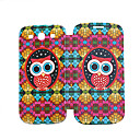 Owl PU Leather Case for Samsung Galaxy S3 I9300