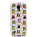Variety of Owls Soft TPU Gel Case for Samsung Galaxy S4 mini I9190 I9195