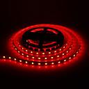 5M 60W 60x5050SMD 3000-3600LM Red Light LED Strip Light (DC12V)
