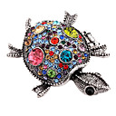 Fashion Turtle Ring(Random Color,Size 9)